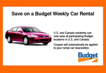 Free day on your weekly Car Rental. When you click the