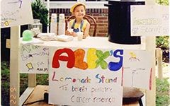 Save up to 25% off base rates. 5% will be donated to Alex's Lemonade Stand Foundation