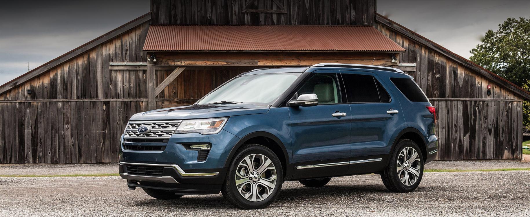 Elite 7 Seater Suv Rental Ford Explorer Or Similar Budget Rent A Car